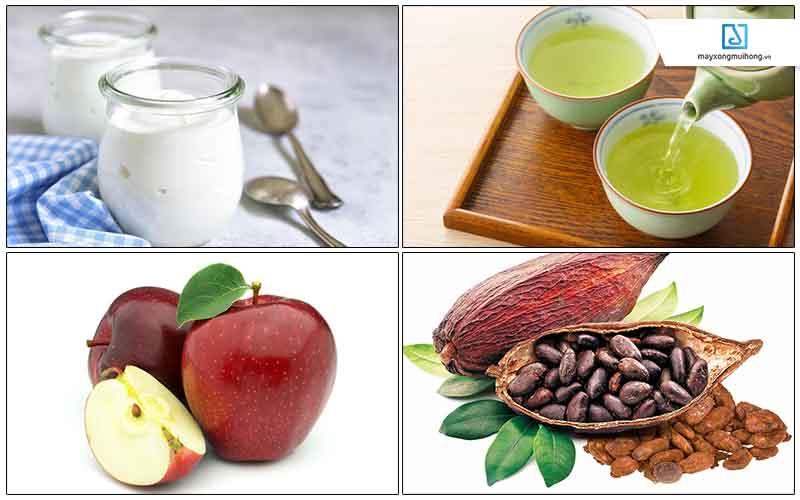 Các loại thực phẩm tốt cho phổi