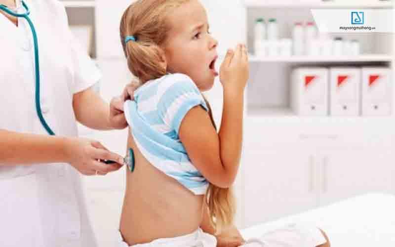Viêm phế quản ở trẻ gây ho có đờm