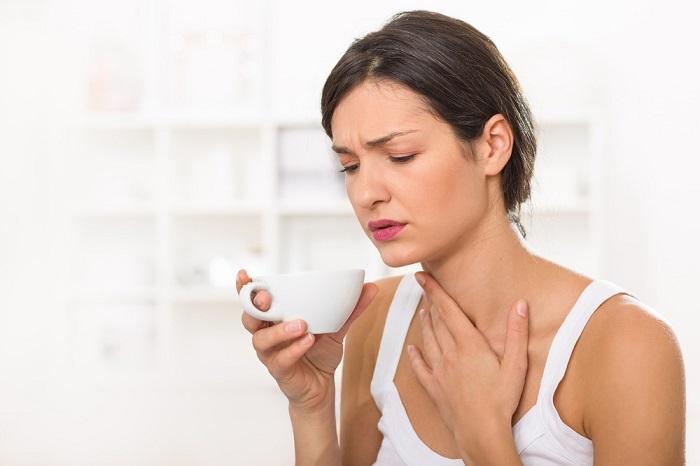 viêm họng khi mang thai giai đoạn 3 tháng đầu