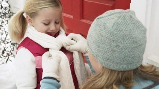đề phòng bệnh viêm họng bằng cách giữ ấm